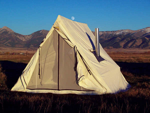Canvas Wedge Tent - Wall Tent - Canvas Tent - Hunting Tent