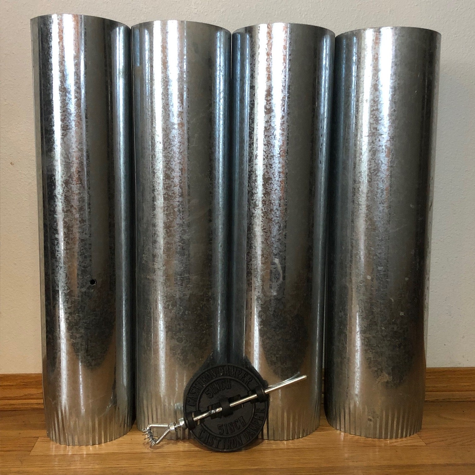 Damper And Pipe