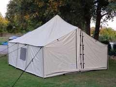 Selkirk Spike Tent Package - Tent, Frame, Floor, Fly, & Stove
