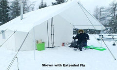 Canvas Winter Tents - Wall Tent