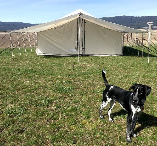Selkirk Spike Tent - Tent, Frame, Floor & Fly
