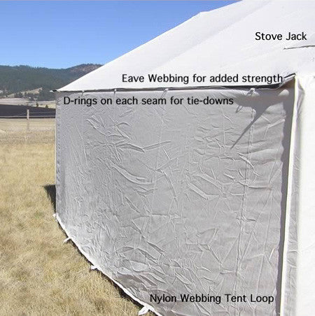 Wilderness Canvas Wall Tent - Canvas Wall Tent