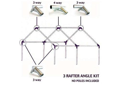 Frames And Angle Kits - Kwik Kamp Angle Kit