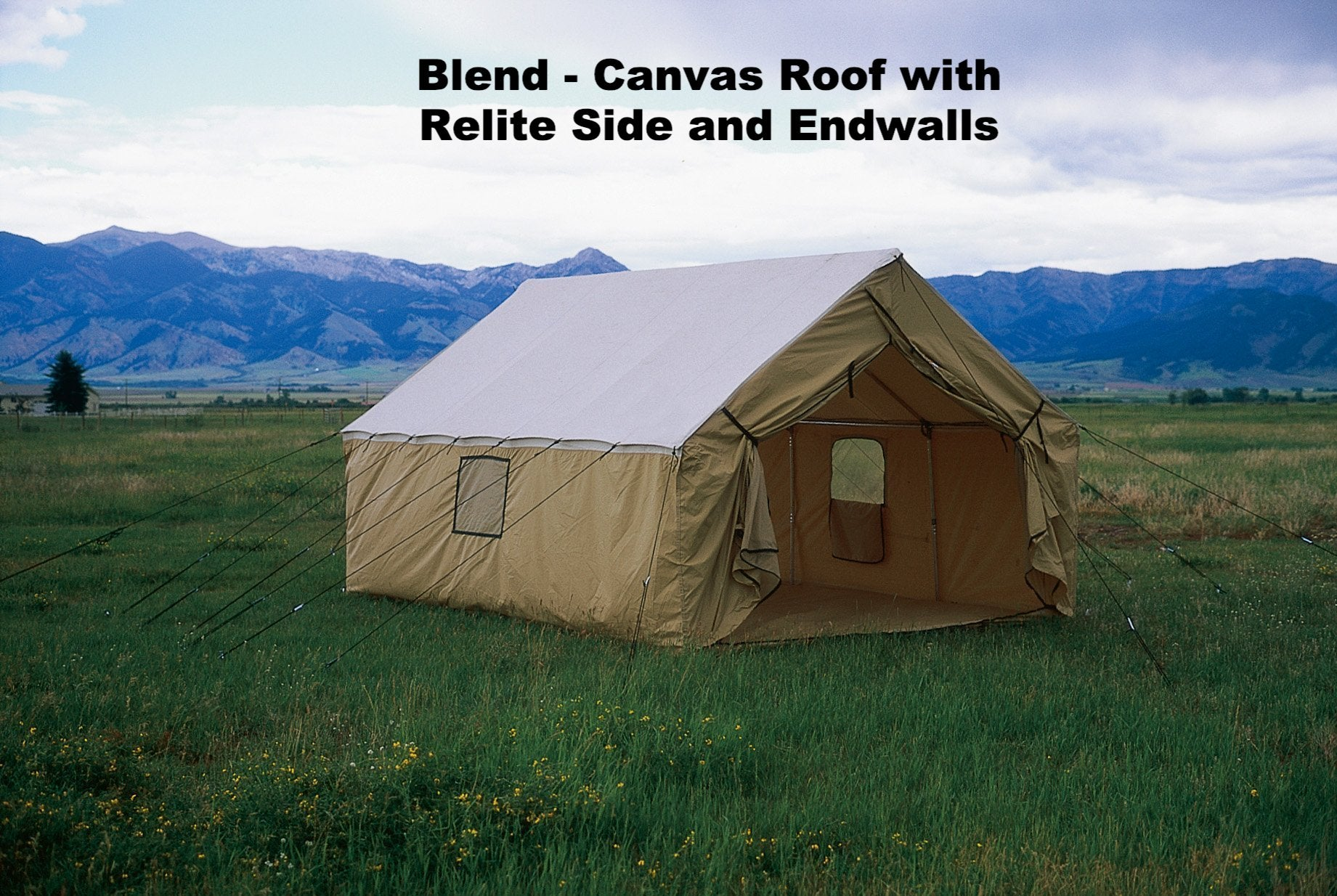 Montana Canvas Wall Tents - Outfitter Warehouse  Montana Canvas Hunting Tent