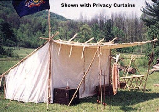 Reenactor Tents - Baker Tent & Canvas Tents