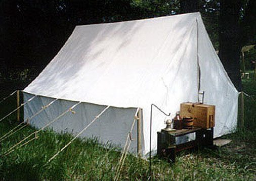 Reenactor Tents - Panther Lodge  Tent
