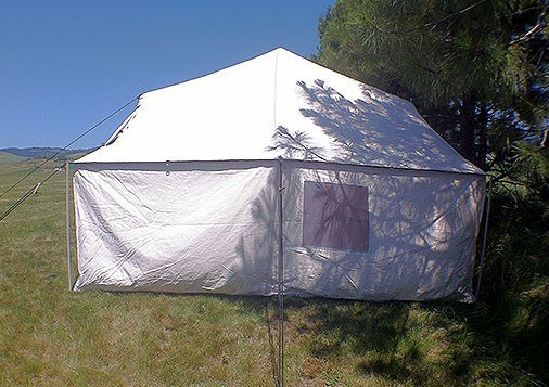 Special - Selkirk Spike Tent Package Tent Frame Floor Fly Stove : canvas spike tents - memphite.com