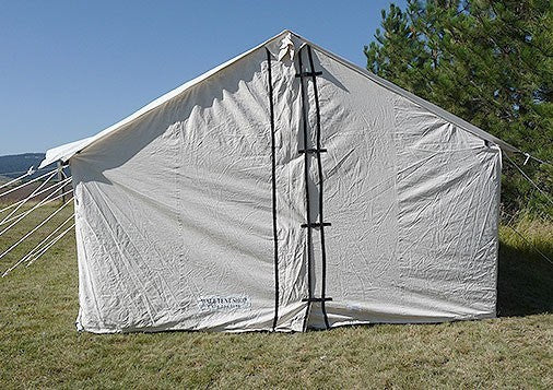 Wilderness Wall Tent Package - Tent, Stove, Fly, & Complete Frame