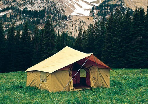 Spike Tents - Montana Canvas Spike Tent - ONLY & Montana Canvas Spike Tent
