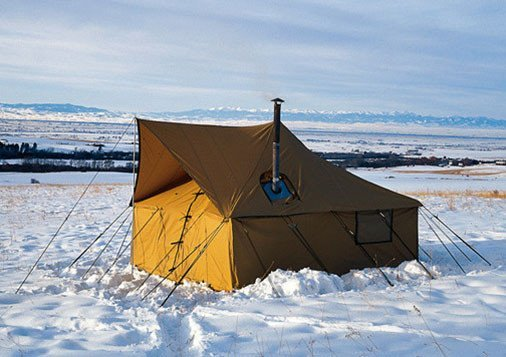 Montana Canvas Spike Tent Package - Tent, Fly, Frame