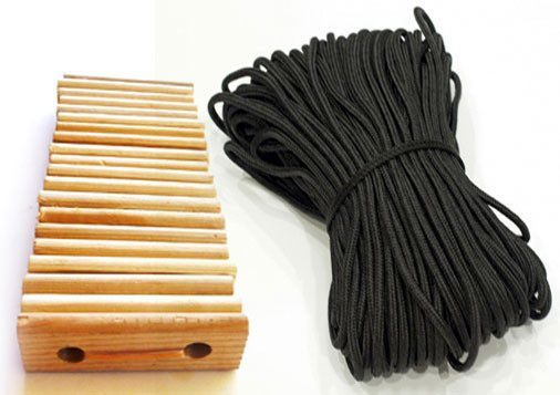 Tent Accessories - 20 Wood Tensioners u0026 200u0027 Poly Rope  sc 1 st  Wall Tent Shop : tent rope tensioners - memphite.com