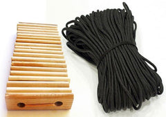 Tent Accessories - 20 Wood Tensioners & 200' Poly Rope