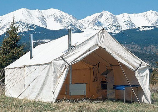 Tent Accessories - Montana Canvas Outfitter Cook Shack & Montana Canvas Outfitter Cook Shack
