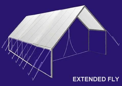Tent Accessories - Wilderness Extended Poly Tent Fly