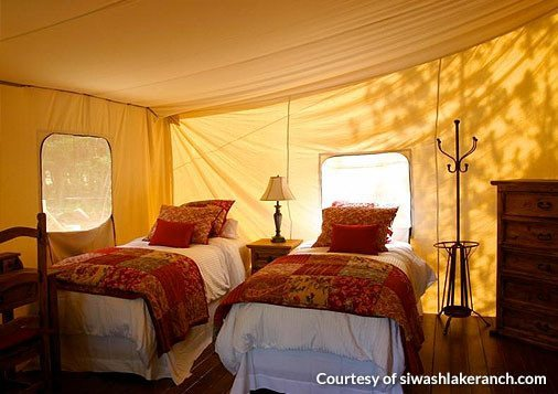Wall Tents - Montana Canvas Luxury Tent