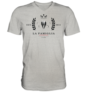 LFC Logo - Mens V-Neck Shirt