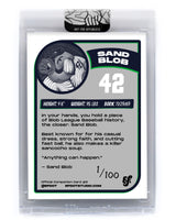 Sand Blob - Companion Card #9 (Unsigned /100)