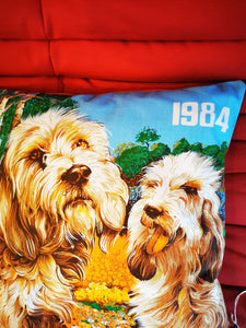 Coussin Calendrier Chiens