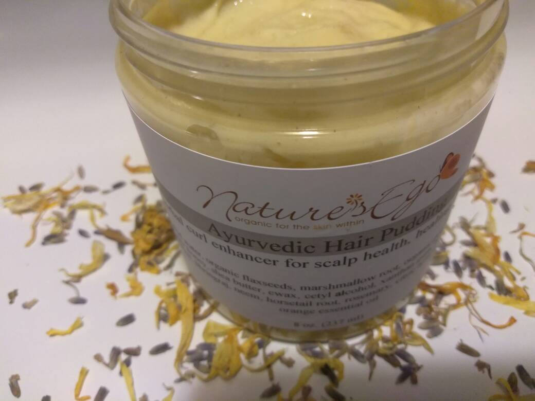 Ayurvedic Hair Pudding (99.9 % natural and organic, curl enhancer)