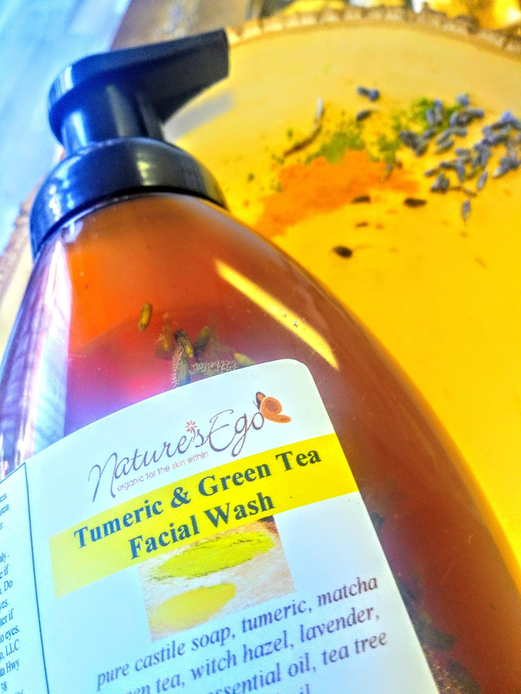 Tumeric & Green Tea Facial Wash