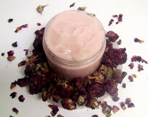 Rose Water Leave In Conditioner (detangler, rose water, rosehip seed oil)