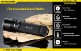Nitecore P36 2000 lumen MT-G2 LED torch - Bright Nite