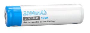EagleTac 18650 2500mAh Protected Lithium-ion Rechargeable Battery - Bright Nite