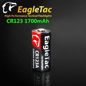 EagleTac CR123A 1700mAh Battery - Bright Nite