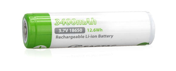 EagleTac Panasonic 18650 3400mAh Protected Rechargeable Battery - Bright Nite