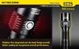 Nitecore EC25 Explorer XM-L T6 960 lumen LED Torch