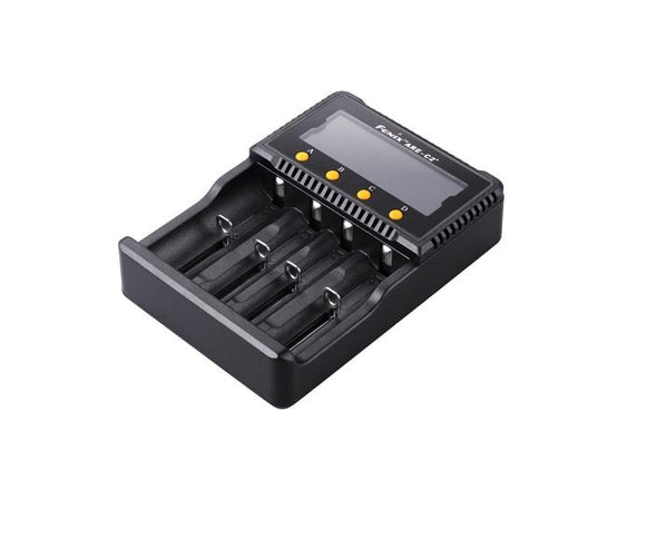 Fenix ARE-C2+ Li-ion and Ni-MH-Ni-Cd Smart battery charger - Bright Nite
