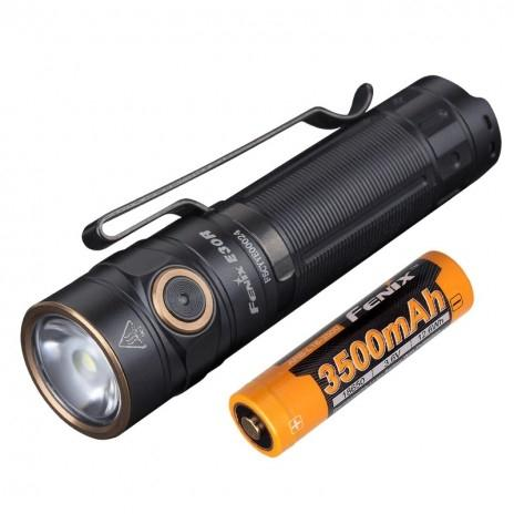 Fenix E30R rechargeable flashlight - Bright Nite