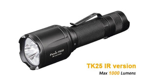 Fenix TK25 IR 3000mW (Infrared) and 1000lm White Flashlight - Bright Nite