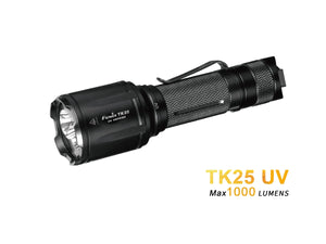 Fenix TK25 UV Ultraviolet flashlight - Bright Nite