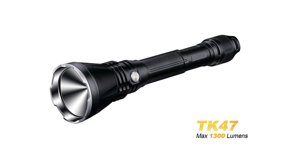 Fenix TK47 1300lm 700m beam throw - Bright Nite