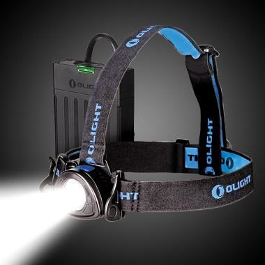 Olight H25 Wave 800 lumen Rechargeable LED headlamp - Bright Nite