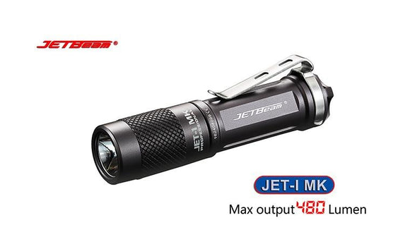 JETBeam JET-I MK 480 lumen AA Flashlight - Bright Nite