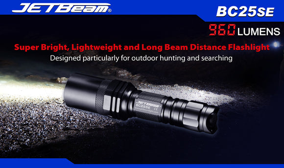 JETBeam BC25 Special Edition XM-L2 960 lumen LED Torch