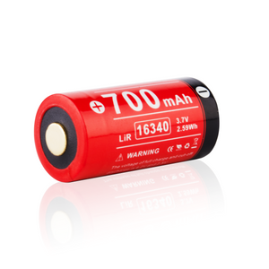 Klarus 16340 Rechargeable battery