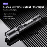Klarus A1 High-Performance Flashlight