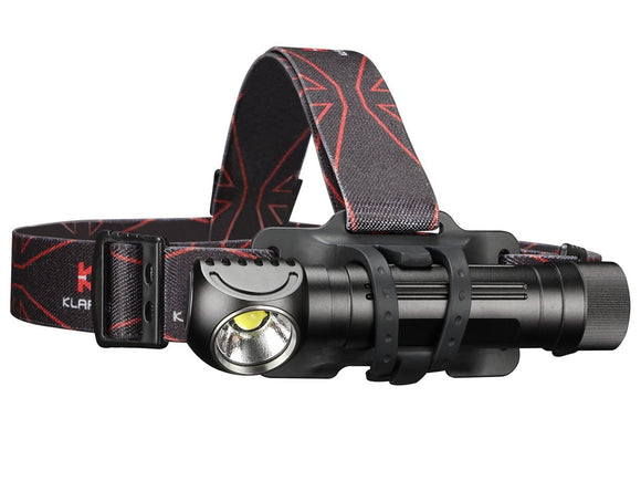 Klarus HA2C 3200LM Rechargeable L-Angle Tool Light Headlamp - Bright Nite