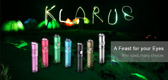 Klarus Kaleidoscope Mi7 AA Flashlight - Bright Nite