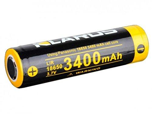 Klarus 18650 3400mah rechargeable li-ion battery - Bright Nite