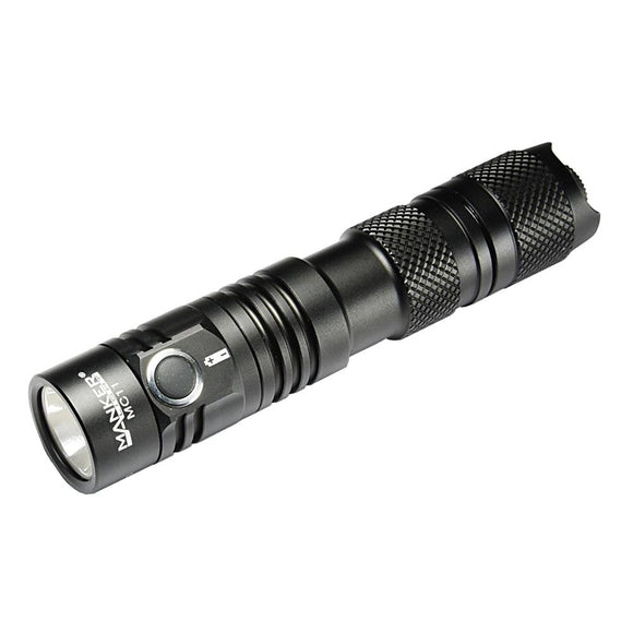 Manker MC11 1300 Lumen CREE XP-L LED Flashlight + Battery - Bright Nite