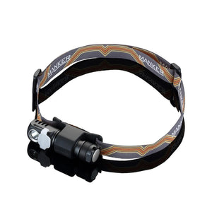 Manker E03H AA Headlamp 350 lumen Angle flashlight With Headband - Bright Nite