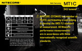 Nitecore MT1C Multi-Task 345 lumen LED Torch