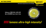Nitecore MH2C Multitask Hybrid 800 lumen rechargeable LED torch