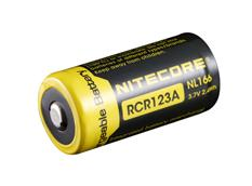 Nitecore RCR123 650mAh Protected Lithium-ion rechargeable battery