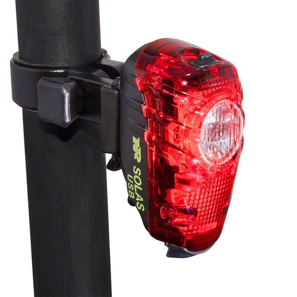 NiteRider SOLAS 2W USB Bike Tail Light - Bright Nite