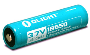 Olight 18650 2600mAh Protected Lithium-ion Rechargeable Battery - Bright Nite